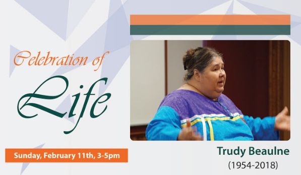 Celebration of Life - Trudy Beaulne (1954-2018)