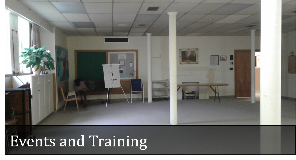 Events and Training Space