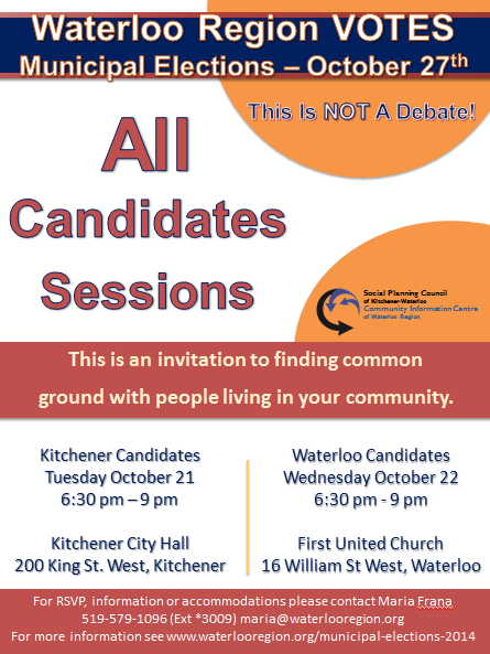 all candidates sessions