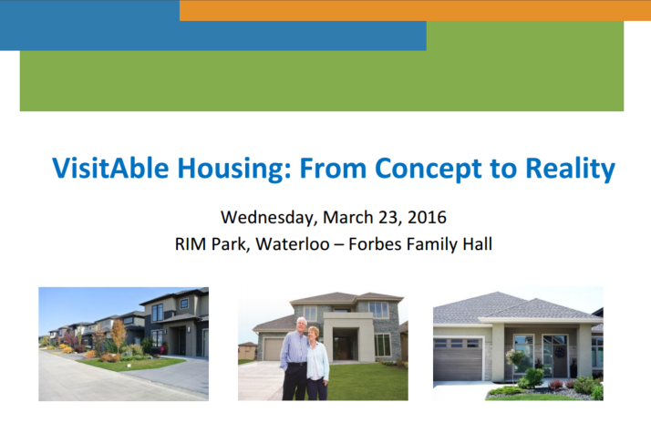 Visitable Housing Forum 2016